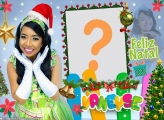 Vaneyse Kids Feliz Natal Montar Foto Online
