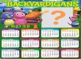 Calendário 2021 Os Backyadigans para Emoldurar