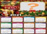 Montar Calendário com Foto Mensagem de Natal 2021
