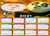 Calendário 2021 Online Kung Fu Panda