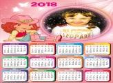 Calendário 2018 Strawberry Shortcake