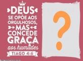 Concede graça aos humildes