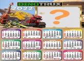 Calendário 2022 Dinotrux Montagem de Fotos Grátis