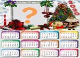 Calendário 2020 Moldura para o Natal