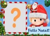 Papai Noel Infantil Feliz Natal