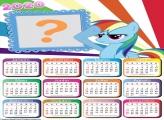 Moldura de Foto Calendário 2020 My Little Pony