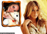 Foto Jennifer Aniston Moldura