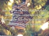 Mensagem Sinos de Natal