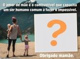 Frases Dia das Mães Foto Montagem Grátis