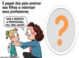 Ame e Respeite a Professora Moldura