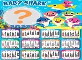 Colar Imagem Calendário 2022 Baby Shark