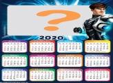 Colagem de Foto Calendário 2020 Max Steel