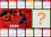 Calendário 2020 Homem Aranha Horizontal