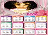Calendário 2018 para Românticos