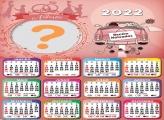 Calendário 2022 Noivado Editar Online