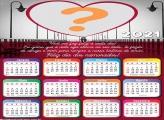 Fotos de Amor Calendário 2021 Mensagem Dia dos Namorados