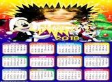 Calendário 2018 Natal do Mickey