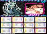 Calendário 2017 Frankie Monster High