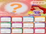 Moldura Digital Calendário 2020 Ariel