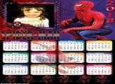 Calendário 2018 Spider Man