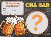 Convite Online Gratuito Chá Bar