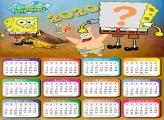 Calendário 2020 do Bob Esponja