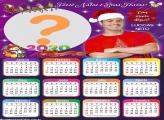 Calendário 2020 Feliz Natal Luccas Neto