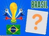 Moldura Taça Cornetas Brasil