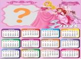 Unir Foto Calendário 2021 Princess Pink