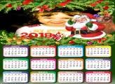 Calendário 2018 Papai Noel Saco de Brinquedos