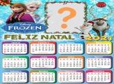 Calendário 2021 Frozen de Natal