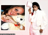 Michael Jackson de Branco