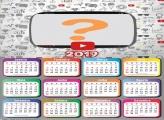 Calendário 2019 Youtube
