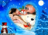Moldura Amor de Natal
