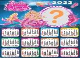 Calendário 2022 Barbie A Sereia das Pérolas
