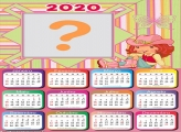 Calendário 2020 Moranguinho FotoMontagem
