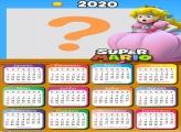Calendário 2020 Princesa Super Mário