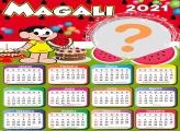 Calendário 2021 Aniversário Magali Melancia