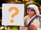 Santa Teresa de Calcutá Moldura