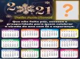 Calendário 2021 Montagem Sucesso e Prosperidade