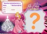 Convite Debutante Princesa 15 Anos