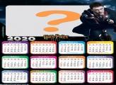 Frame Calendário 2020 Harry Potter Filmes
