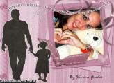 Pai e Filha de Mão dadas