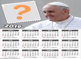 Calendário 2019 Papa Francisco