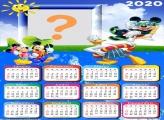 Calendário 2020 Turma do Mickey Férias
