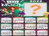 Calendário 2022 Miss Moon Editar Grátis