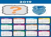 Calendário 2019 Alagoas Time Futebol