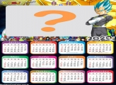 Calendário 2020 Vegeta Super Sayajin