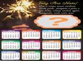 Calendário 2021 Amor Ano Novo Montagem Online