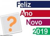 Feliz Ano Novo 2019 Cores